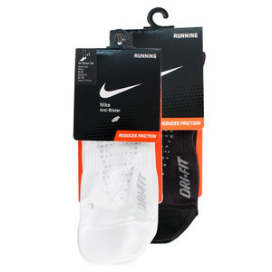 NIKE ANTI-BLISTER LTWT LOW CUT TAB RUN SOCK