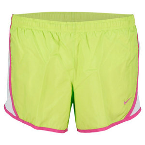 NIKE GIRLS TEMPO GREEN TENNIS SHORT