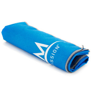 MISSION ATHLETECARE ENDURECOOL TENNIS TOWEL BLUE