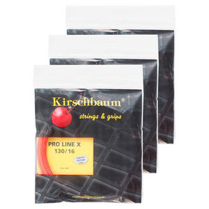 KIRSCHBAUM PRO LINE X 1.30 3 PACK SAMPLE STRING