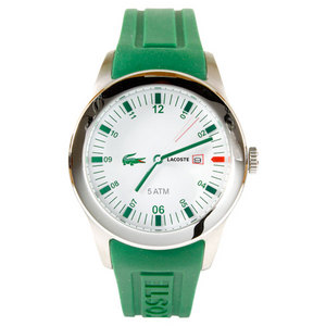 LACOSTE ADVANTAGE TENNIS WATCH GREEN