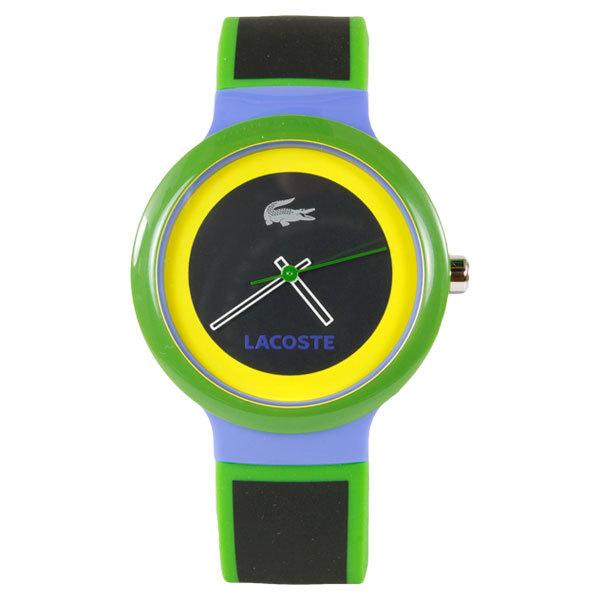 Goa Tennis Watch Black/Green/Yellow