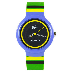 LACOSTE GOA TENNIS WATCH GREEN/BLUE/YELLOW