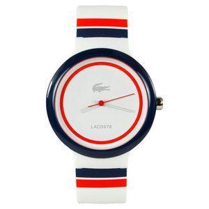 LACOSTE GOA TENNIS WATCH WHITE/BLUE/RED