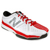NEW BALANCE Men`s MC851 White/Red D Width Tennis Shoes