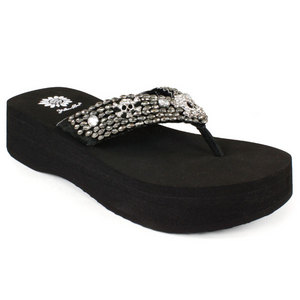YELLOWBOX TALMA BLACK SANDALS