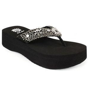 Women`s Talma Black Sandals
