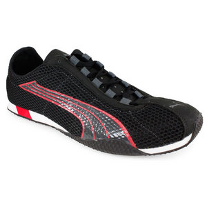 PUMA MENS H ST PLUS NM RUNNING SHOES STEEL GY