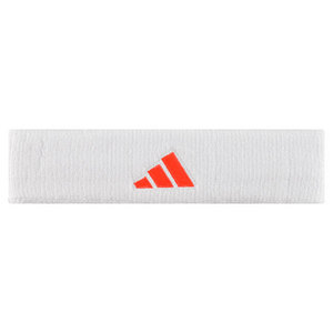 adidas TENNIS HEADBAND WHITE/ORANGE
