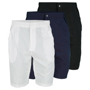 LACOSTE MENS STRETCH ZIP FLY TENNIS SHORT
