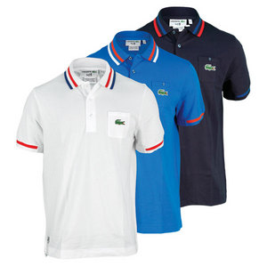 LACOSTE MENS ANDY RODDICK SEMI FANCY POLO