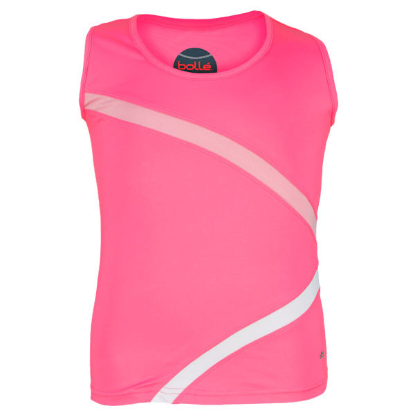 Girl's Forever Young Tennis Tank (S Only)