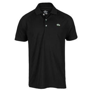 Men`s Short Sleeve Super Dry Raglan Sleeve Solid Tennis Polo