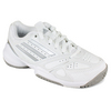 Junior`s Galaxy Elite 2 Tennis Shoes Running White/Metallic Silver by ADIDAS