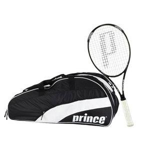 PRINCE O3 WHITE  W/  T22 TEAM BLACK 12 PK