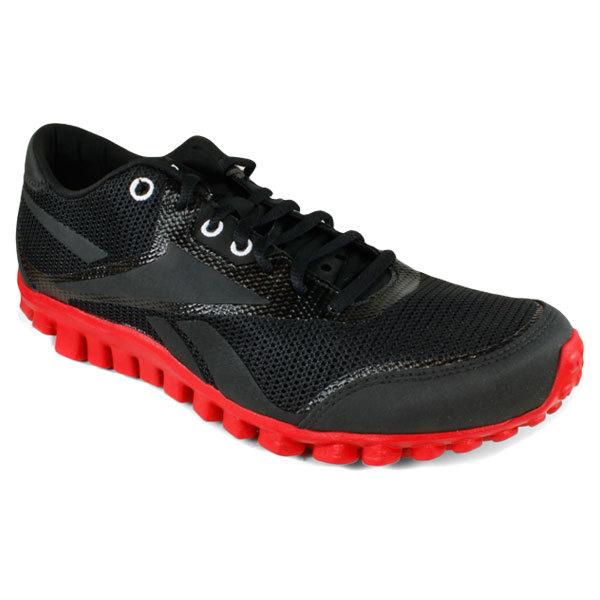 Men's Realflex Optimal 3.0 Running Shoes Black/Red