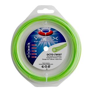 YTEX OCTO-TWIST LIME 1.28MM/16G TENNIS STRING