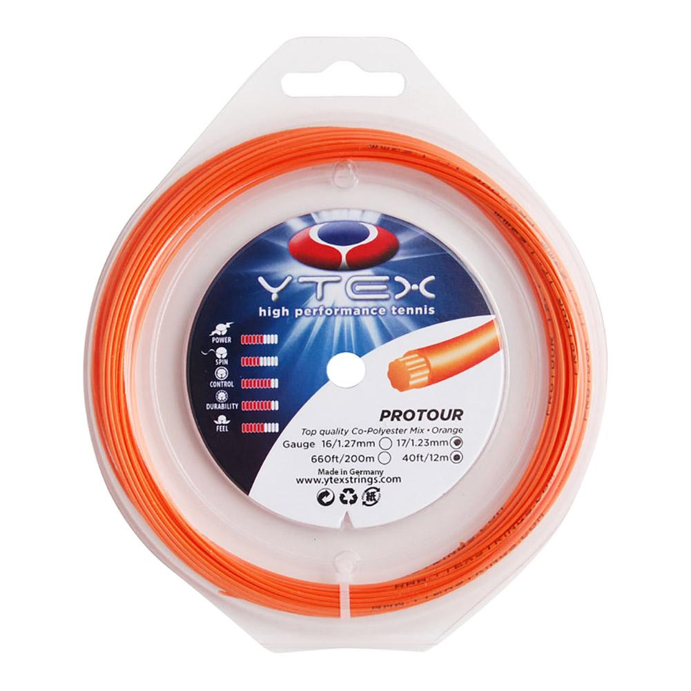 Protour Orange 1.23mm/17g Tennis String