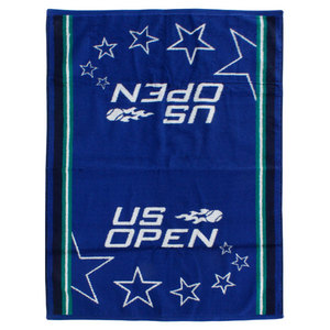 WILSON US OPEN BLUE/GN AUTHENTIC TENNIS TOWEL