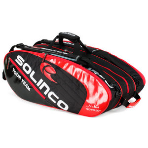 Red Tour Team Mega 12 Pack Tennis Bag