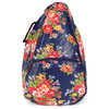 ALL FOR COLOR Cottage Rose Tennis Backpack
