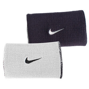 NIKE PREMIER HOME AND AWAY WRISTBAND BK/SILV