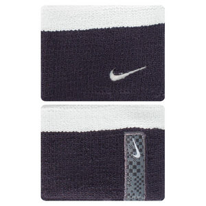 NIKE PREMIER WRISTBANDS BLACK/DK GY HEATHER
