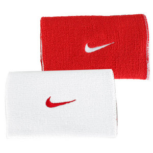NIKE PREMIER HOME AND AWAY WRISTBAND WH/RD