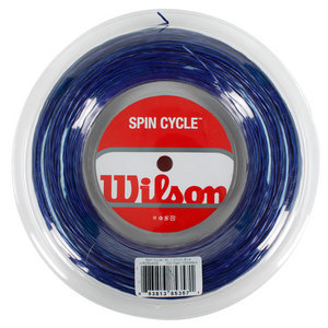 WILSON SPIN CYCLE 16L BLUE REEL TENNIS STRING