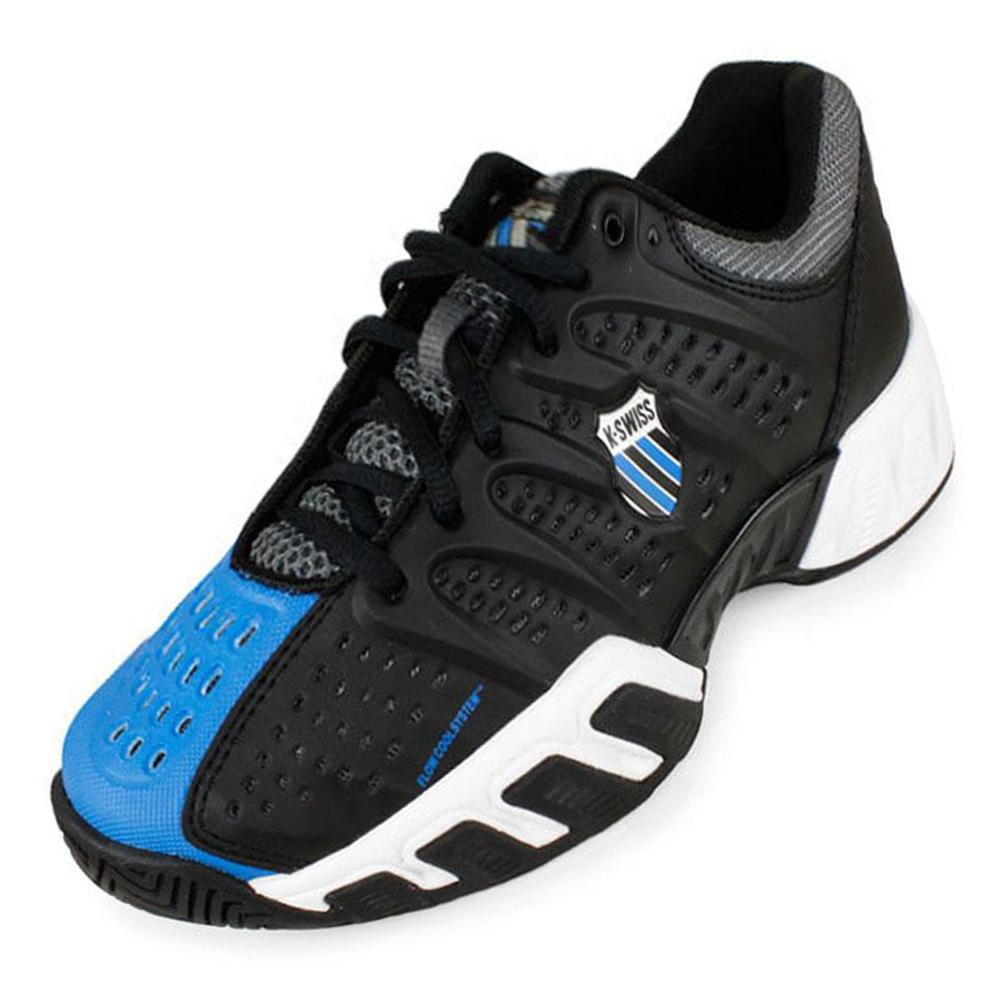 Junior's Varsity Bigshot Light Tennis Shoes Black/Brilliant Blue