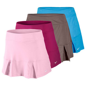 NIKE WOMENS POWER PLEATED TENNIS SKIRT