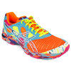 ASICS Men`s GEL-Noosa Tri 7 Running shoes Neon Orange/White/Turquoise