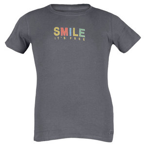 LIFE IS GOOD GIRLS SMILE ITS FREE CRUSHER TEE TRUE BL