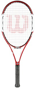 WILSON NFURY TWO PRE-STRUNG TENNIS RACQUETS