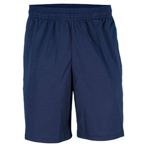REEBOK MENS OUT ACED KNIT NAVY TENNIS SHORT