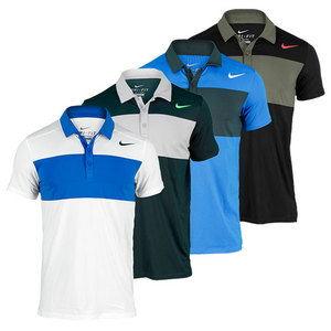 NIKE MENS STATEMENT UV TENNIS POLO