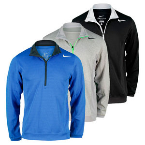 NIKE MENS LONG SLEEVE HALF-ZIP TENNIS JACKET