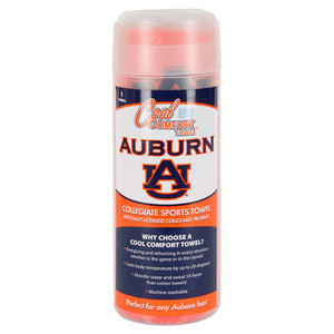 PRO VISION SPORTS AUBURN UNIVERS COOL COMFORT ORAN TOWEL