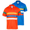 Men`s Short Sleeve Super Dry Triple Stripe Tennis Polo