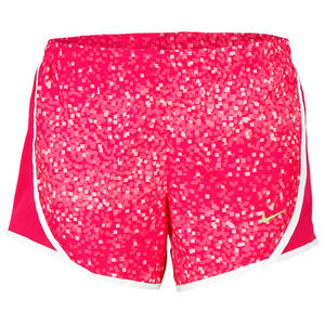 NIKE GIRLS GFX TEMPO RUNNING SHORT