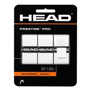 HEAD PRESTIGE PRO OVERGRIPS WHITE