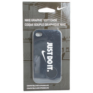 NIKE SOFT IPHONE CASE BLACK/WHITE