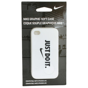 NIKE SOFT IPHONE CASE WHITE/BLACK