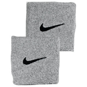 NIKE SWOOSH WRISTBANDS GREY HEATHER/BLACK