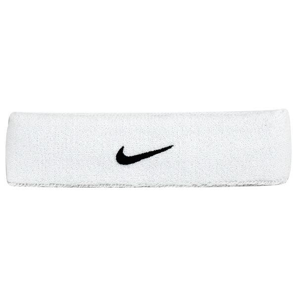 Swoosh Tennis Headband White/Black