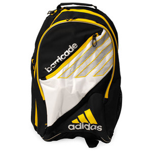 adidas BARRICADE III WHITE/YELLOW BACKPACK