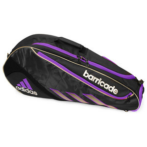 adidas BARRICADE III TOUR 3 PACK BK/PINK BAG