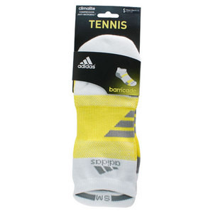 adidas BARRICADE SMALL WHITE NO SHOW SOCKS