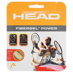 HEAD FIBERGEL POWER 17G STRINGS