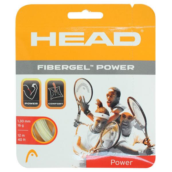 Fibergel Power Tennis Strings 16g 1.30m